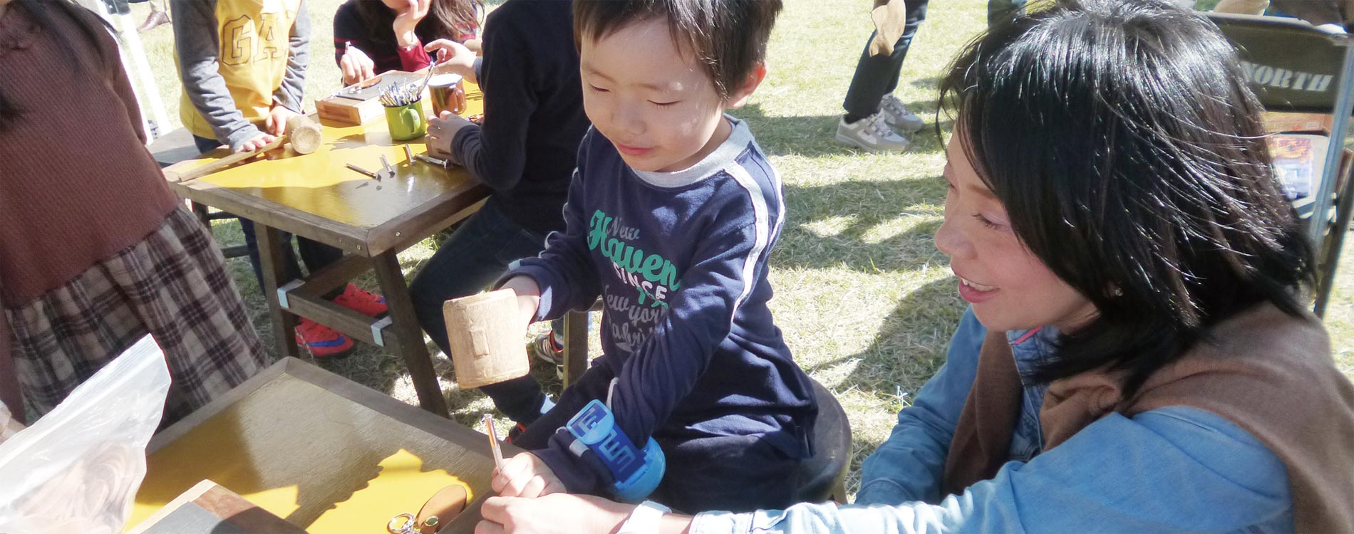 イベント開催中の子供の画像